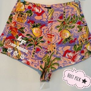 LF The Brand vintage tropical shorts